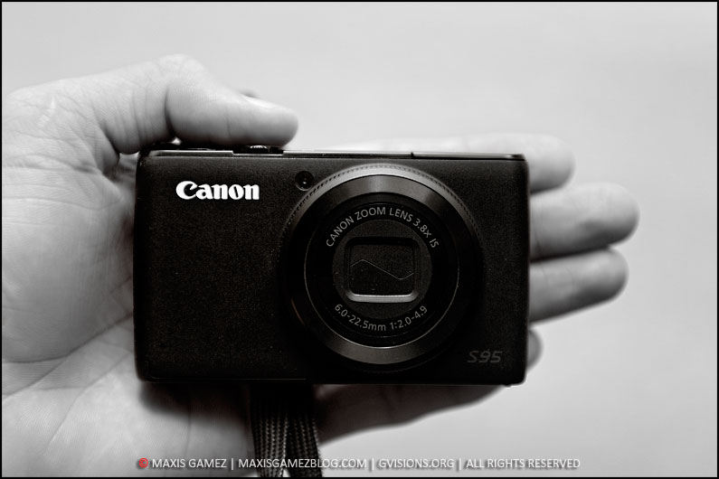 Canon S95 Point & Shoot Camera - Maxis Gamez, All Rights Reserved